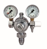 OXYLITRE  Standard Regulator Twin Gauge B/Nose - Oxygen 0 to 15Lpm