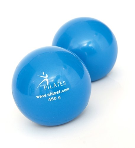 SISSEL Pilates Toning Ball 450g (Pair)
