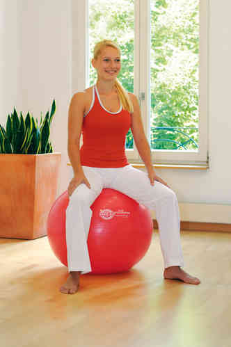 SISSEL Exercise Ball - 75cm Red