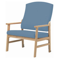Sidhil Extra Wide Armchair with Extended Legs