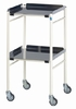 Doherty Halifax Mild Steel Trolley 460x460mm Aluminium Shelves