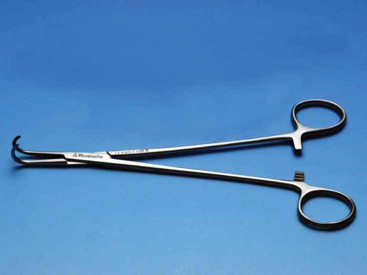 Rocialle Inhealth Optimo Negus Artery Forceps Large Curved