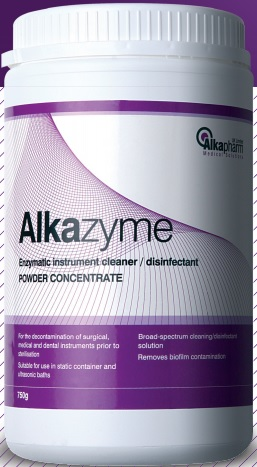 Alkazyme Enzymatic Instrument Cleaner 1 Litre Liquid