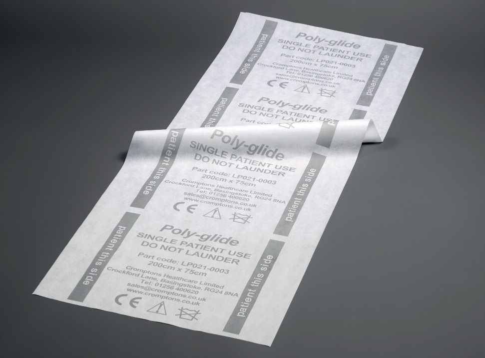 Cromptons Poly Glide Single Patient Slide Sheet