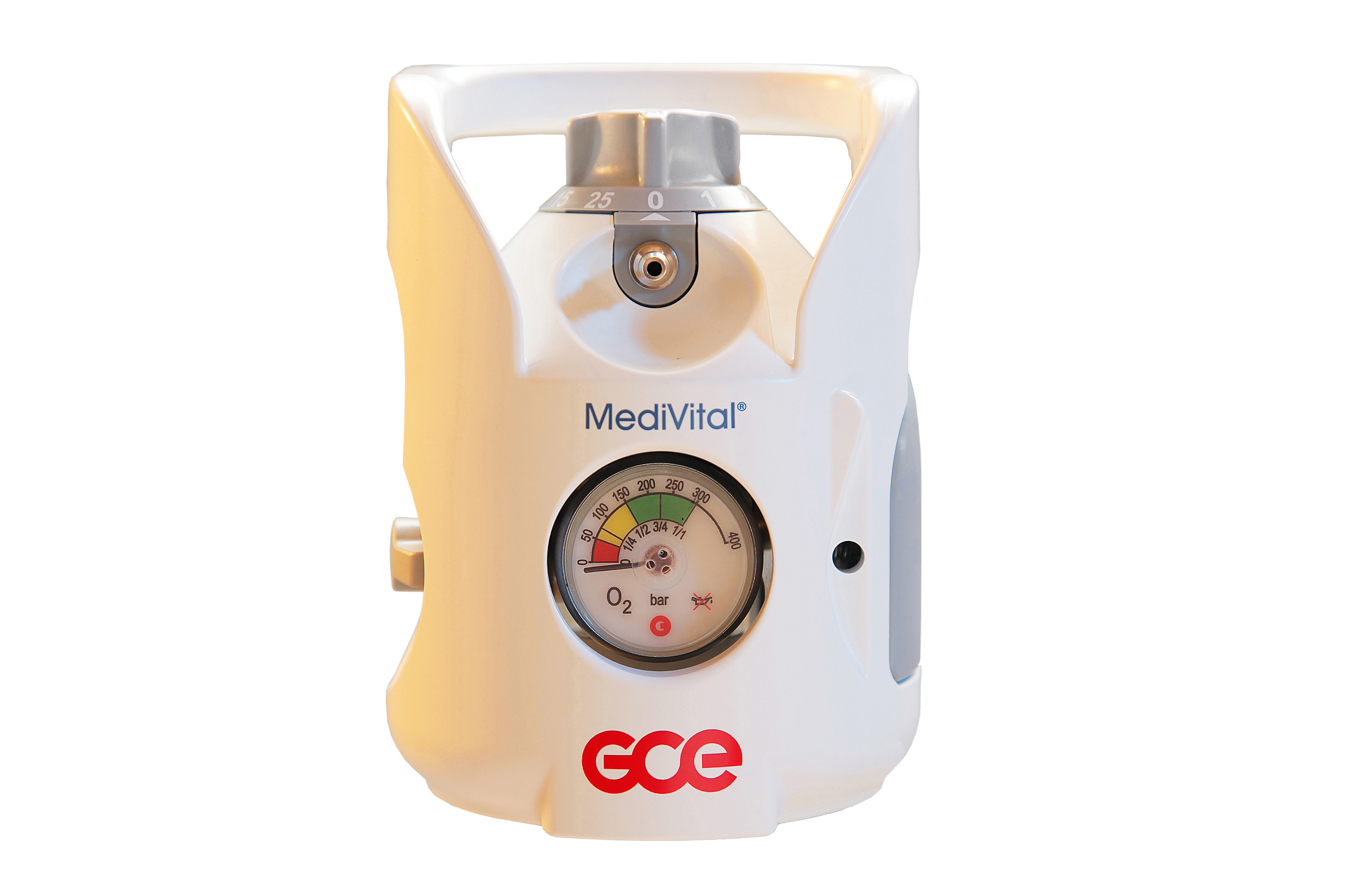 Gce Medivital Integrated Cylinder Package Filled To 200