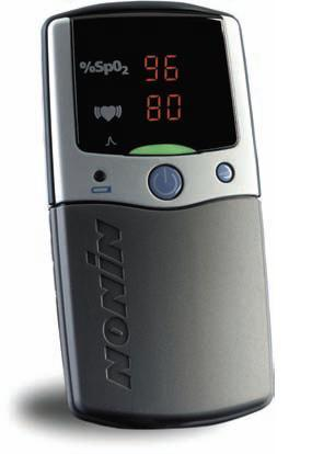 Nonin 2500A PalmSAT Pulse Oximeter with Memory