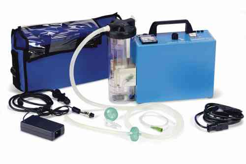 Mini Rechargeable Aspirator 12v/Mains with Carry Case