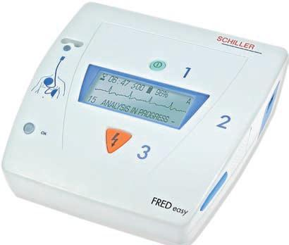 Schiller Fred Easy Fully Automatic Defibrillator