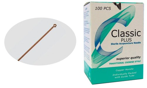 Harmony Medical Classic Plus Acupuncture Needles 13mm Length - 0.22mm Diameter