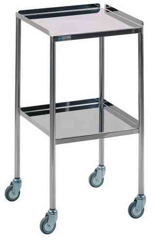 Doherty Hastings Stainless Steel Trolley (H: 915 x W: 765 x D: 460mm)