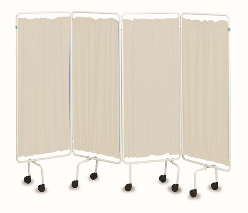 Polyester Curtains - Cream (Set of Four)