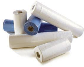 20 inch White Couch Rolls (x9) (Length 40 metres)