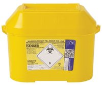 Daniels Sharpsguard Extra Yellow 8.5 Litre (single)