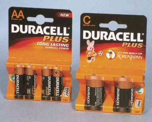 Duracell Ultra MN1500 (AA) Batteries x 4