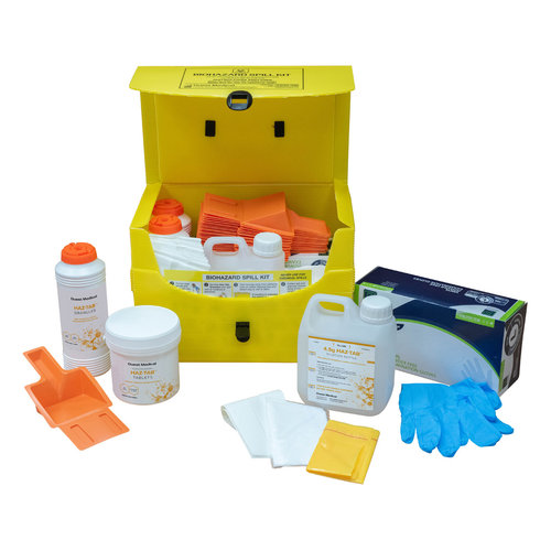 Guest Medical Multi-Use Biohazard Spill Kits - Large (Up to 25 Uses)