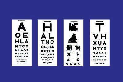 Sussex Vision Test Types OAX