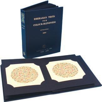 Ishihara 38 Plates Concise (8 Plates for Illiterates)