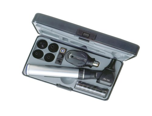 Keeler Practitioner 2.8v Diagnostic Set with Fibre Optic Otoscope 1729-P-1020