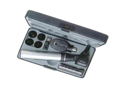 Keeler Practitioner 3.6v Diagnostic Set with Fibre Optic Otoscope 1729-P-1024