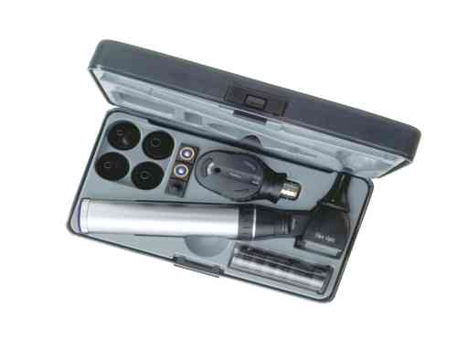 Keeler Standard 2.8v Diagnostic Set with Fibre Optic Otoscope 1729-P-1041