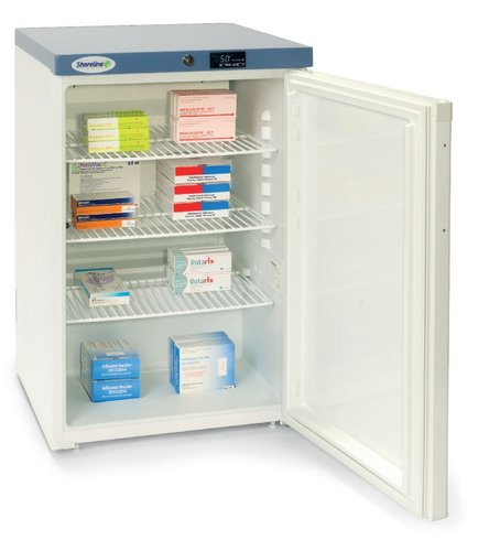 Shoreline SM1502 Solid Door Pharmacy Refrigerator