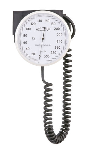 Accoson 6 Inch Aneroid Sphygmomanometer - Wall Model with Cuff