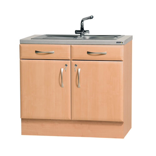 Sunflower 100cm Sink Cabinet (excluding sinks and taps)