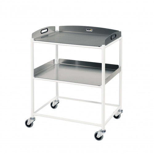 Sunflower Medium Dressing Trolley – 2 Stainless Steel Trays