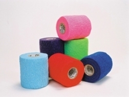 BSN Medical Co-Plus Cohesive Bandage (Light Support)  -  10cm x 6.3m (Stretched) (specify colour)