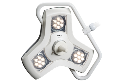 Glamox Luxo Aim LED Luminaire Minor Surgery Light - Wall