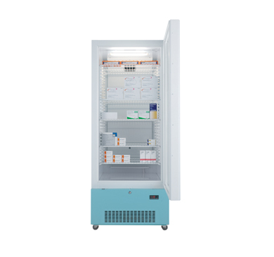 Lec Medical PG1607C Refrigerator 444L Glass Door