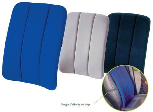 SISSEL DorsaBack Car Full Back Support in Blue