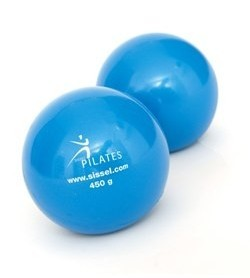 SISSEL® Pilates Toning Ball, 900 g, pair