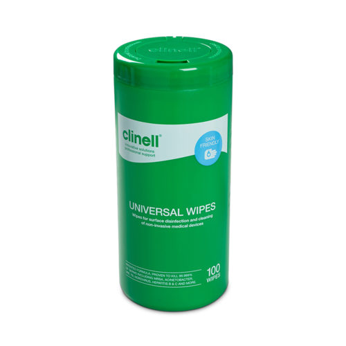 Clinell Universal Tub 100 Wipes