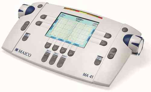MA41 Air, Bone and Masking Audiometer includes Speech Testing and Freefield with DD45 phones