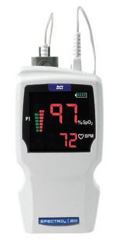SPECTRO2 |20 Pulse Oximeter System with Adult Spot-Check Finger Sensor