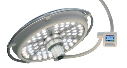 DARAY LED Ceiling Mounted Operating Theatre Light 700mm (160,000 lux)