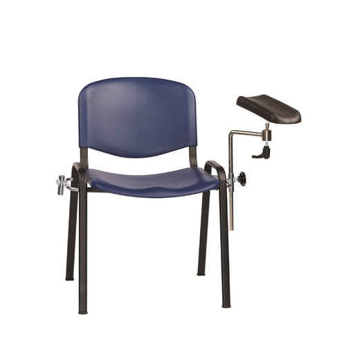 Sunflower Moulded Seat Phlebotomy/Treatment Chair - Blue