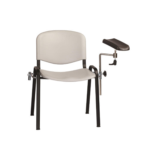 Sunflower Moulded Seat Phlebotomy/Treatment Chair - Grey