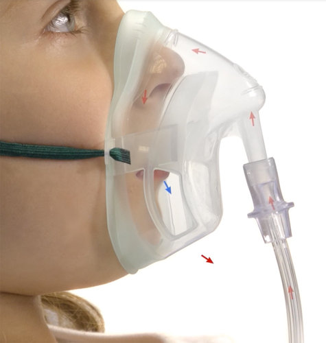 Intersurgical Paediatric EcoLite Medium Concentration Oxygen Mask