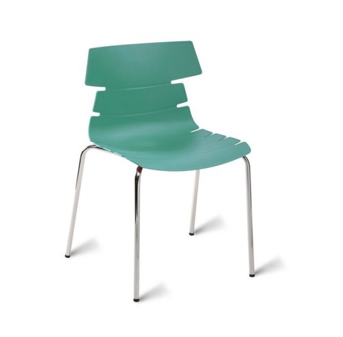 Hoxton Polypropylene Chair - Turquoise