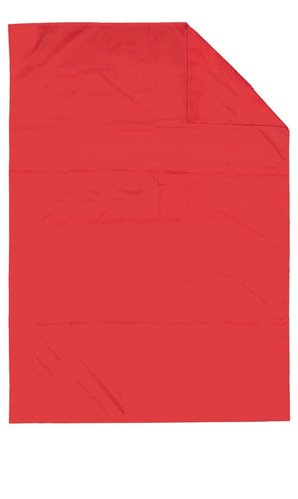 Cromptons Red Flat slide sheet - no handles 200cm x 90cm
