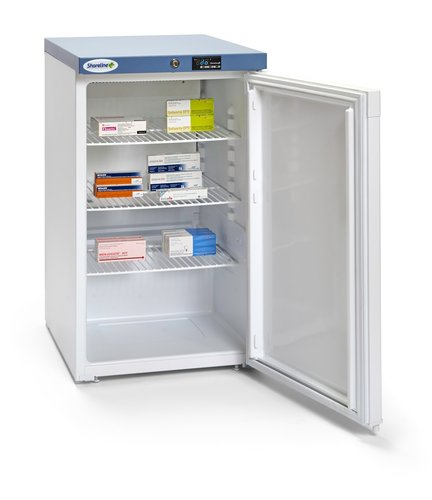 Shoreline SM1402 Solid Door Pharmacy Refrigerator