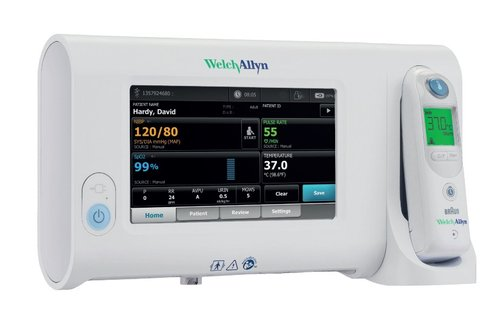 Welch Allyn Connex Spot Monitor with SureBP, Pulse, Nonin Sp02, Pro6000 ear thermometry