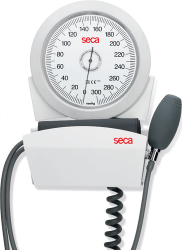 seca b41w Manual Blood Pressure Monitor - wall mounted with adult cuff