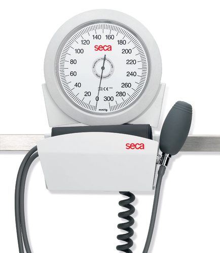 seca b41r Manual Blood Pressure Monitor - rail mounted with adult cuff