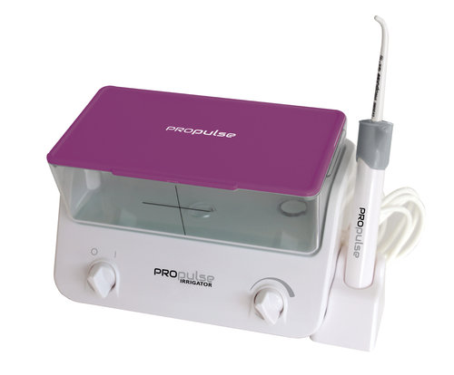 Propulse Ear Irrigator Machine Purple Lid 2017 with 10 QrX Tips