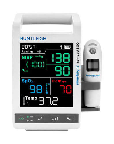 Huntleigh Smartsigns Compact 300 Series SC300 with NiBP, Pulse, SpO2 and Temperature