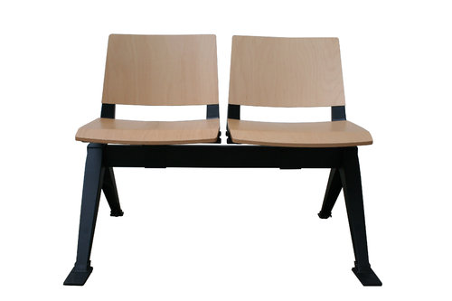 Medi Beam Seat (2 Seats/Wood)