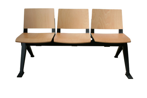Medi Beam Seat (3 Seats/Wood)